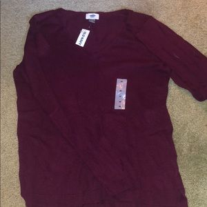 Deep purple/ maroon sweater